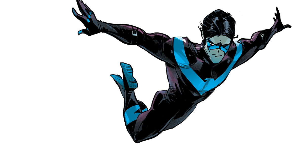 the flight. #Nightwing #DCComics