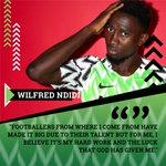 Word from a charged @Ndidi25 #SoarSuperEagles #NGA #CRONGA #Team9jaStrong