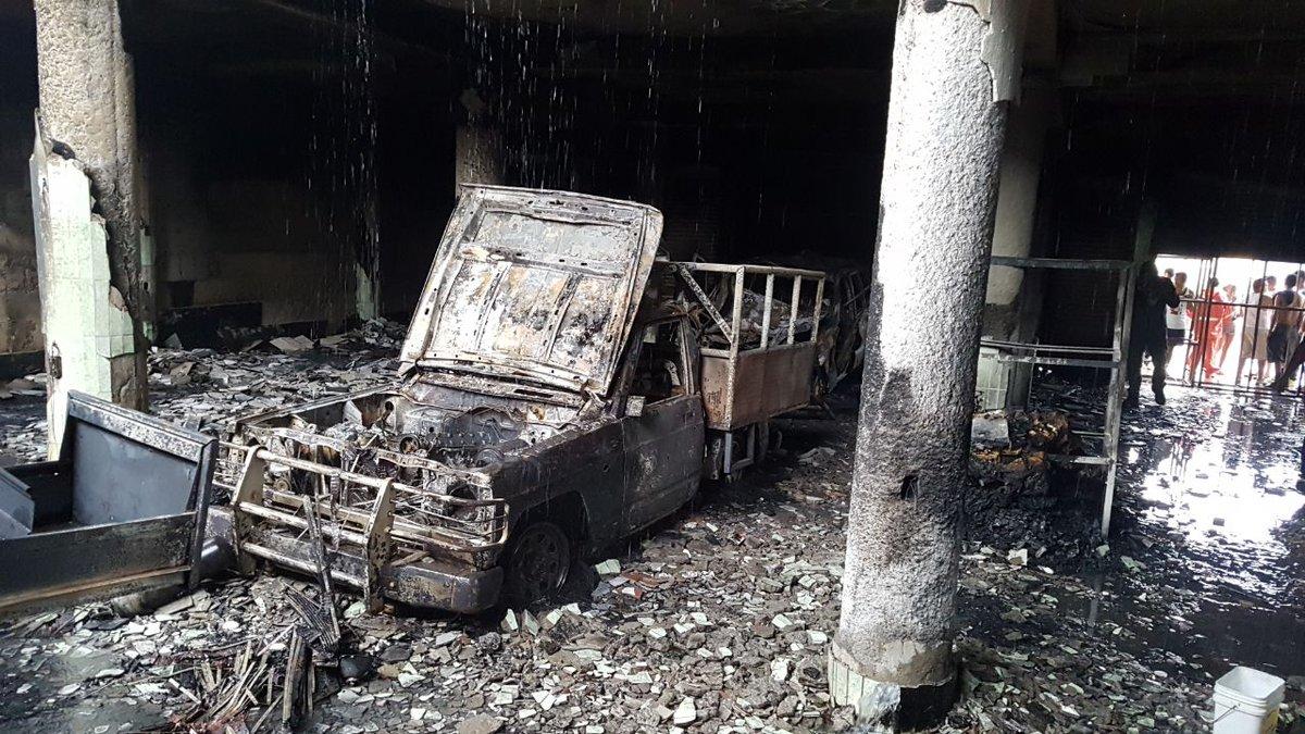 Siete personas murieron, incluidos tres niños durante ataque armado e incendio en el barrio Carlos Marx     https://t.co/OHyz0EEtd1