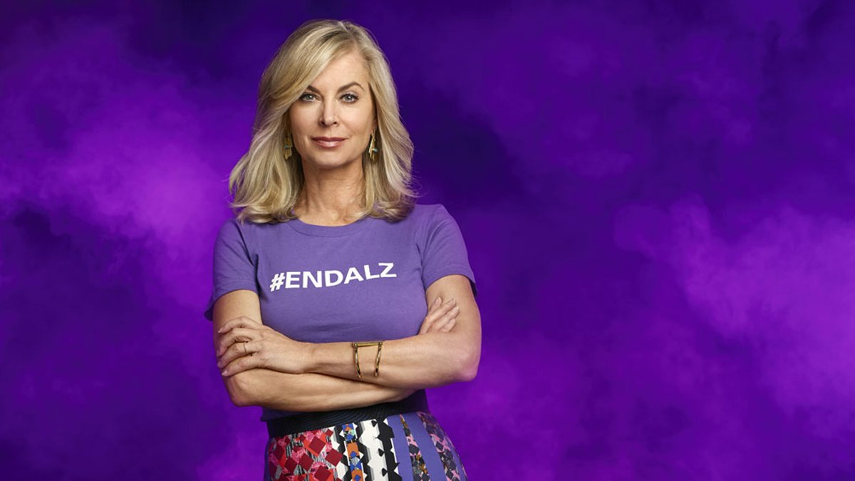 Join me and the @alzassociation in going purple to #ENDALZ in honor of Alzheimer's & Brain Awareness Month. Together, we can make a difference!