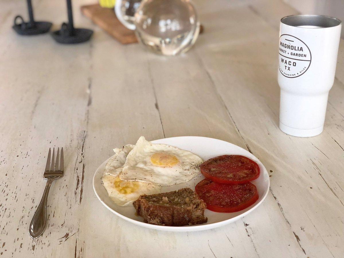 Breakfast of champions.. #farmLife