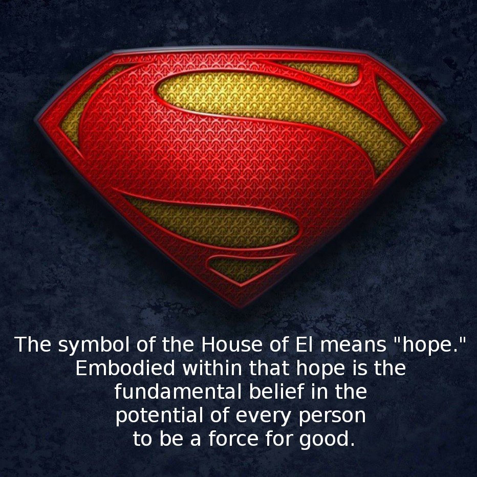 Aaron James Banzon On Twitter The Symbol Of The House Of El Means