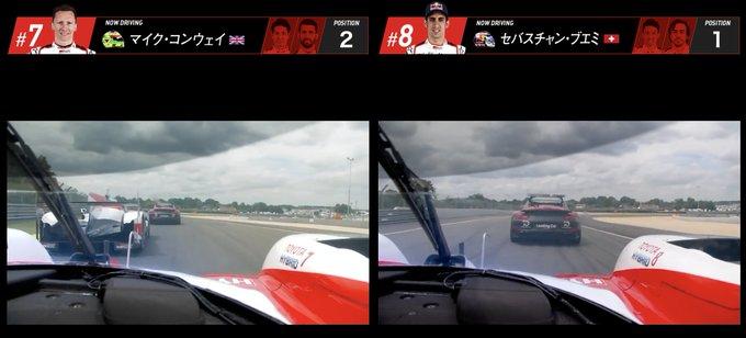 ル・マン24時間レース、スタートドライバーは 7号車がマイク・コンウェイ選手🇬🇧 8号車がセバスチャン・ブエミ選手🇨🇭 です。 TS050 HYBRIDの車載映像をLIVE配信もスタートしました! 下記のWEBページよりご覧ください👇 #WECjp #LeMans24 Photo