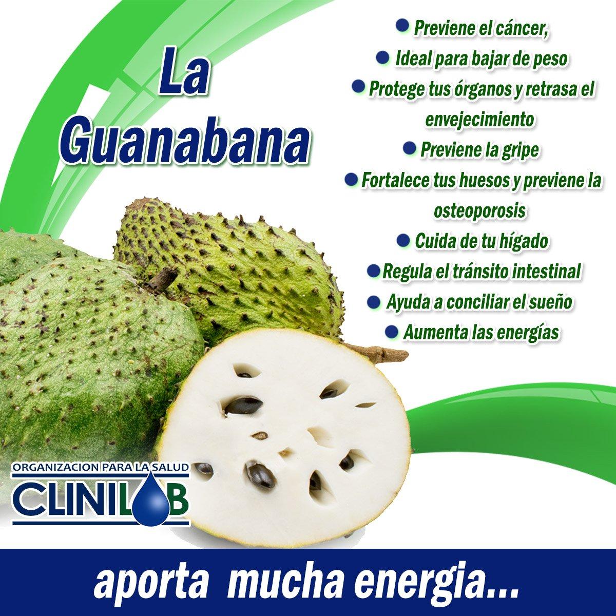 Beneficios de la guanabana en la salud
