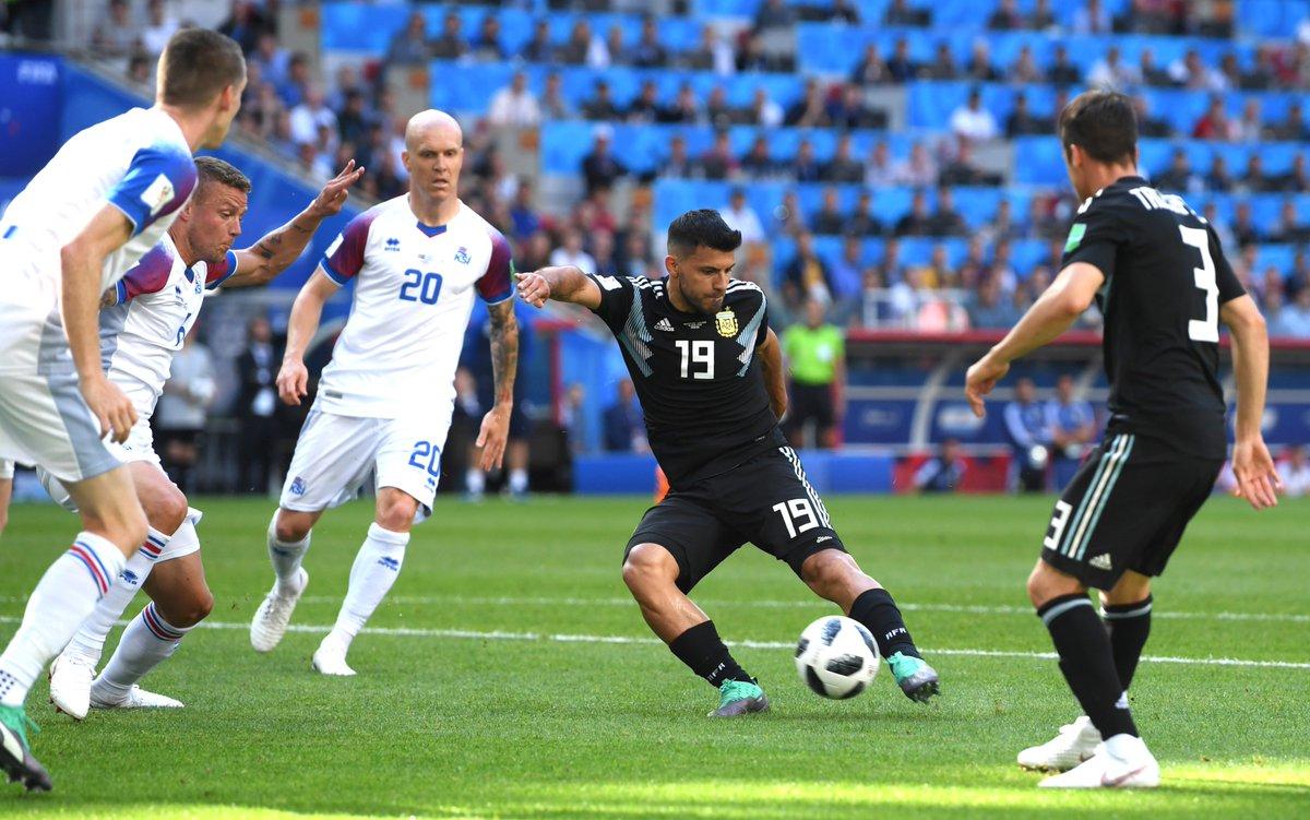 But Sergio Aguero Argentine -Islande