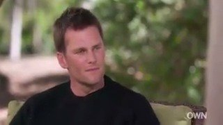 Knew I liked this guy! Much more to Tom Brady than football—so impressed by his work ethic and commitment to family. Watch on @OWNTV or my Facebook page tomorrow, 11am ET. #SuperSoul