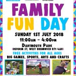 Image for the Tweet beginning: Our Family Fun Day is