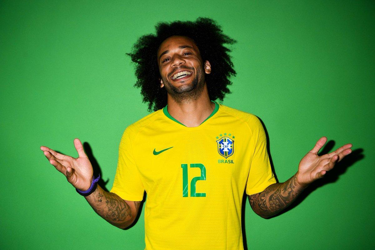 Marcelo será o capitão da seleção brasileira na estreia da Copa do Mundo https://t.co/G7ivfUInMk