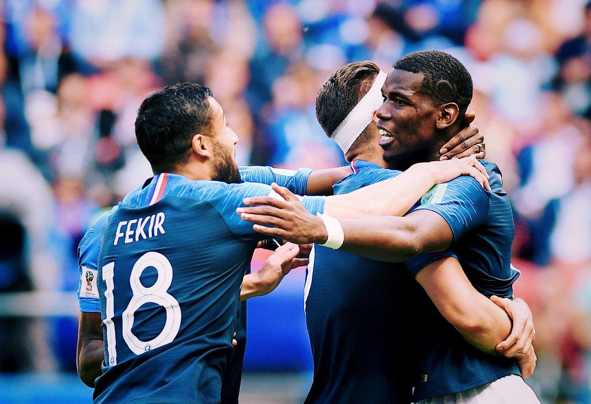 Très hereux de notre victoire allez les Bleus!! 🇫🇷🙏🏾 @equipedefrance #AllezLesBleus #weliveforfootball #WorldCup #WorldCup2018 #HereToCreate