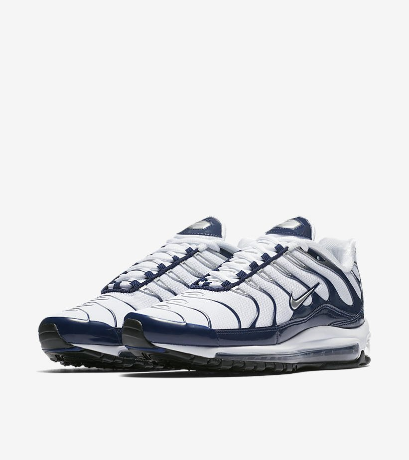 san francisco 95966 248b7  ReleaseDate The Nike Air Max 97 Plus  Midnight Navy  is now available via   Footaction!