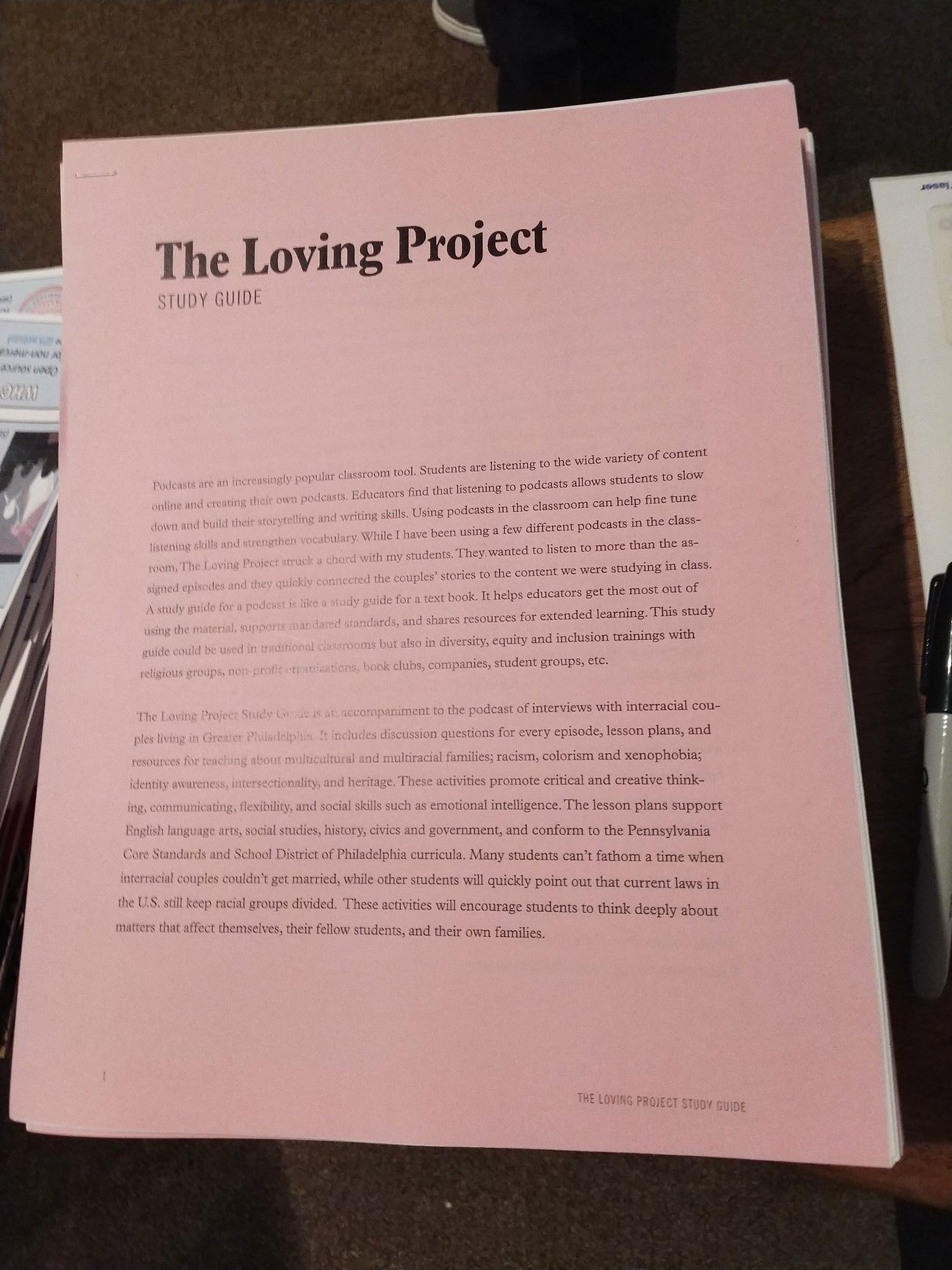The Loving Project On Twitter Getting Ready To Start The Educator
