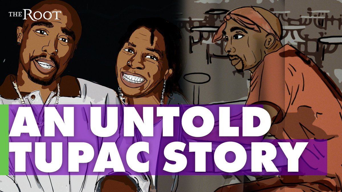 Tupac would have turned 50 today 🙏🏿🕊️  Watch as his godfather shares a powerful story of the rapper's unfulfilled vision: https://t.co/BaA3rZe4sf