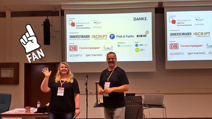 Vielen lieben Dank für das super duper Orga-Team und die Sponsoren des #cosca18! Das #barcamp war einfach mega! Foto