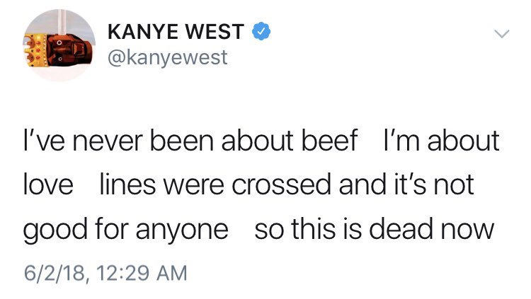 After the camps talked on deading the beef, @kanyewest tweeted stance at #GOODMusic! If @Drake sends shots at @PUSHA_T and company on #Scorpion, how would that come off, after he gave #JPrince his word? Or would they battle on?! #PushaTvsDrake #SoundCloud soundcloud.com/remindmetotell…