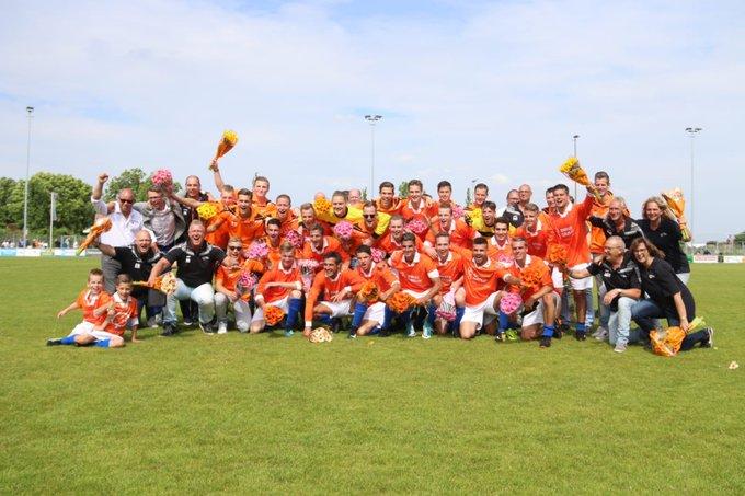 RT @Haagsamvoetbal: En de 6-1 voor @svhonselersdijk. Afgelopen, historie geschreven. 1e klasse. Onze felicitaties. https://t.co/5bGwylrI76