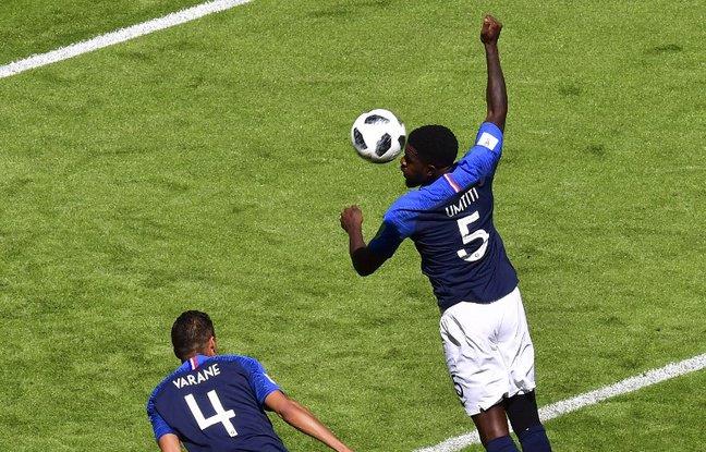 Coupe du monde 2018: Critiqué pour sa main, Umtiti ironise sur son compte Instagram Photo