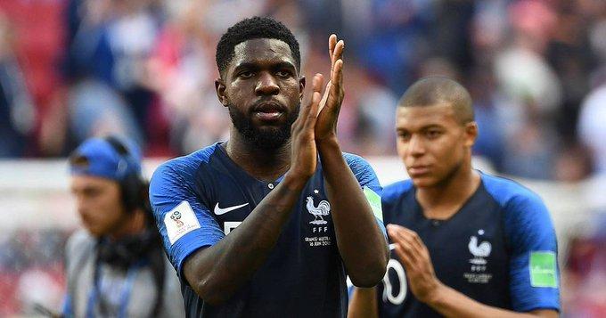 Coupe du monde 2018. Samuel Umtiti se moque de lui sur les réseaux sociaux après France - Australi Photo