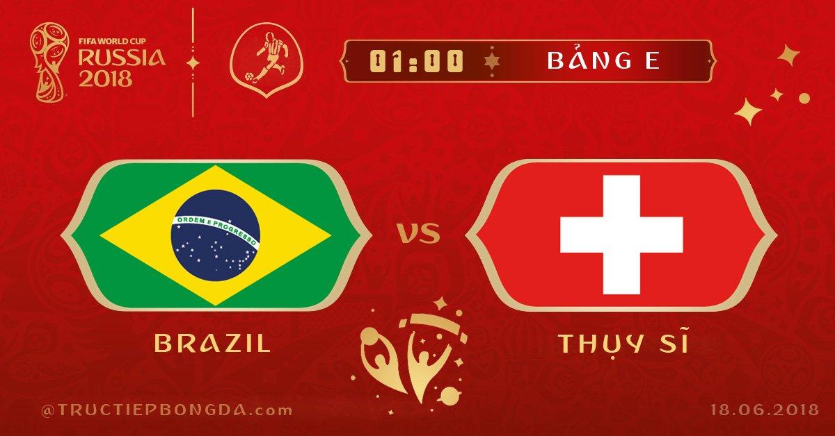 Brazil vs Thụy Sĩ