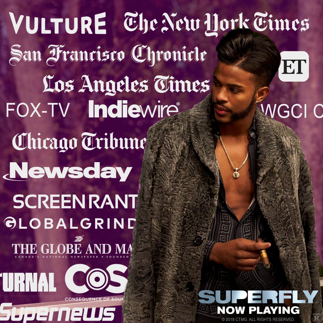 Critics are raving about #Superfly - now playing! Get tix: amc.film/2HH1Xeq