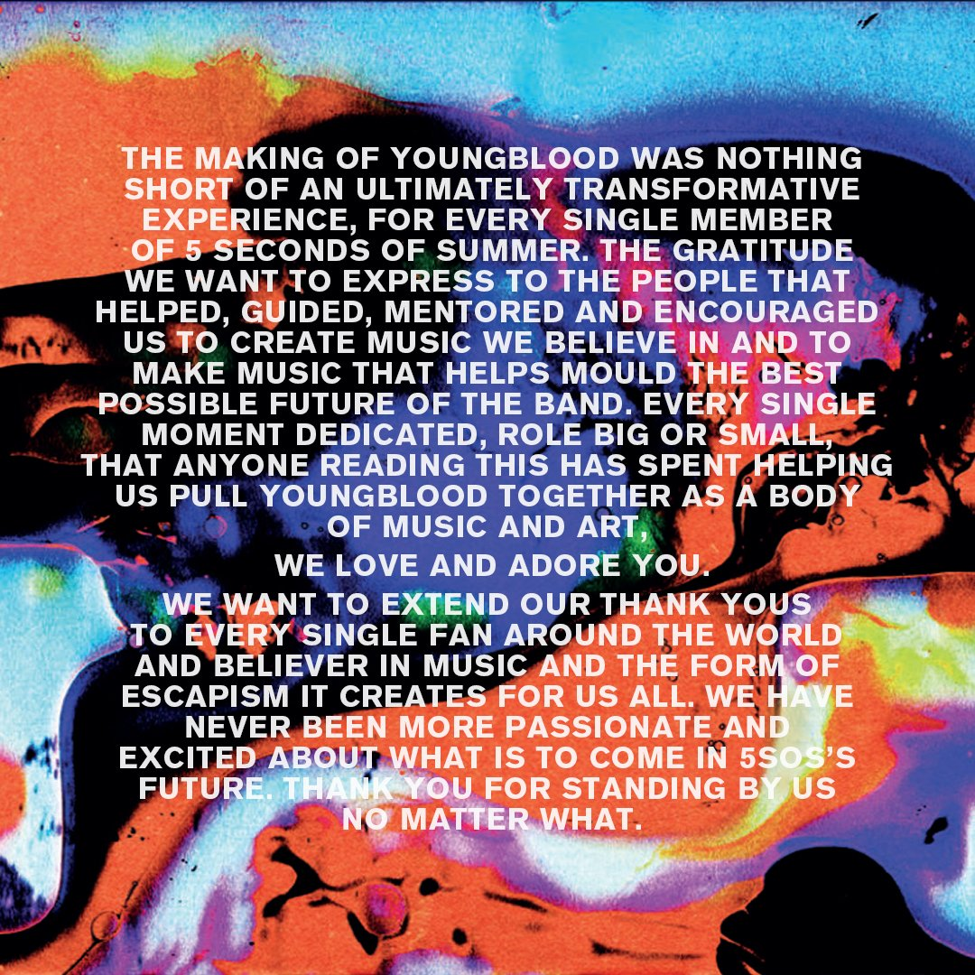 Thank you #Youngblood x