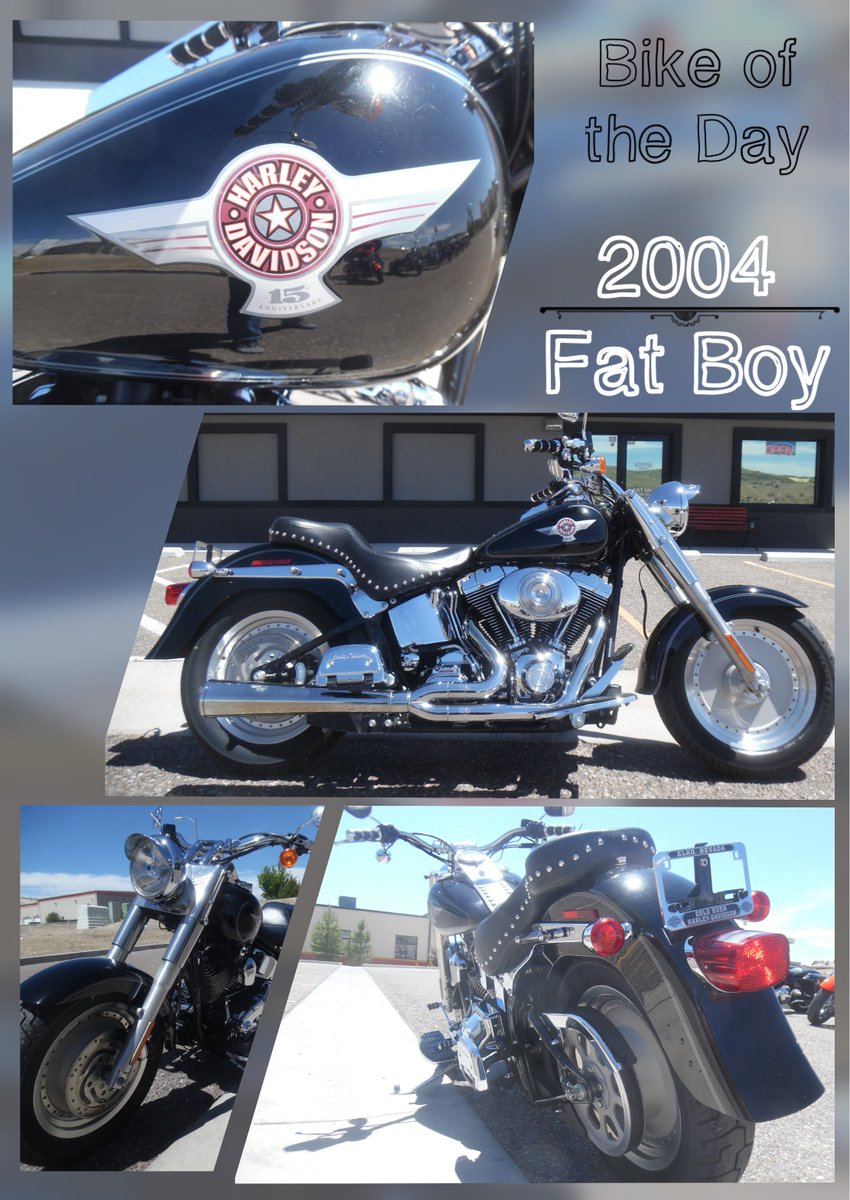 Check out this 2004 Fat Boy for $6299. It is ready for the adventure  ahead.#goldrushhd #harleydavidson #preowned #fatboy #flstf #softailpic.twitter.com/  ...