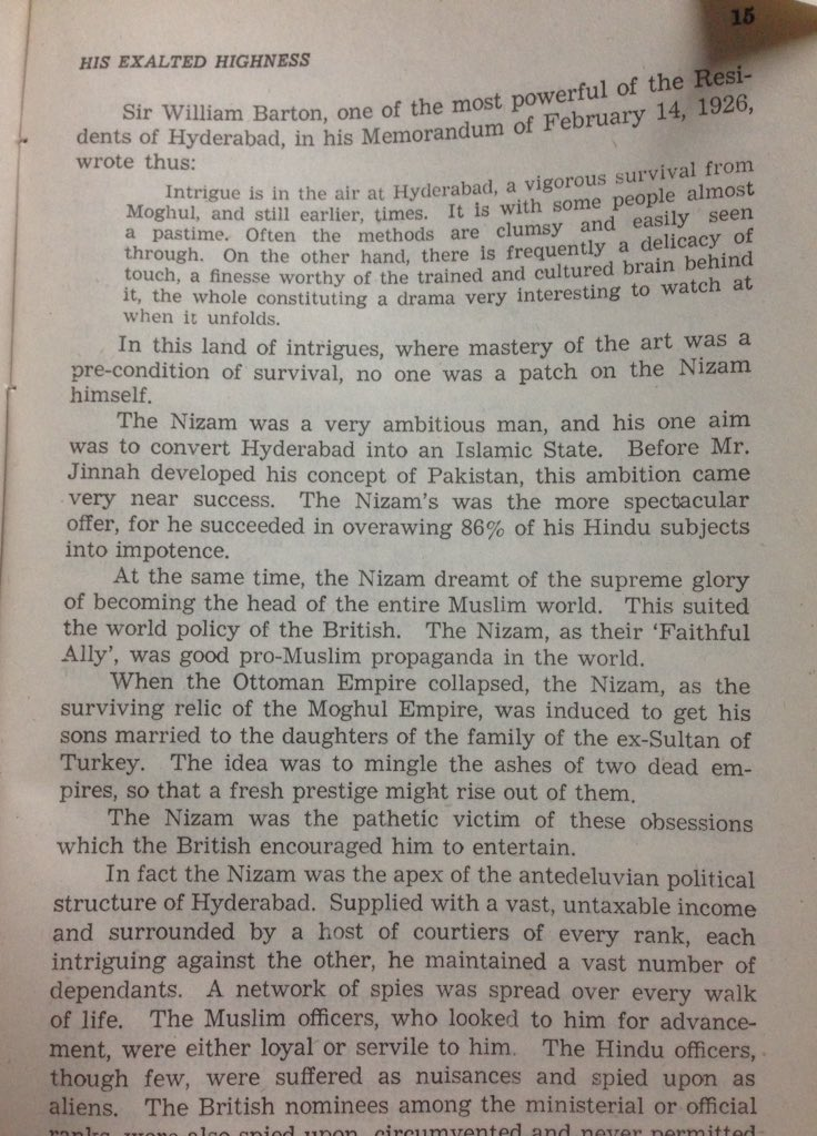 Hyderabad nizam wife sexual dysfunction