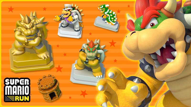 This weekend in #SuperMarioRun, only Bowser items will appear in Remix 10s Super Bonus Game! This is your chance to get them all!