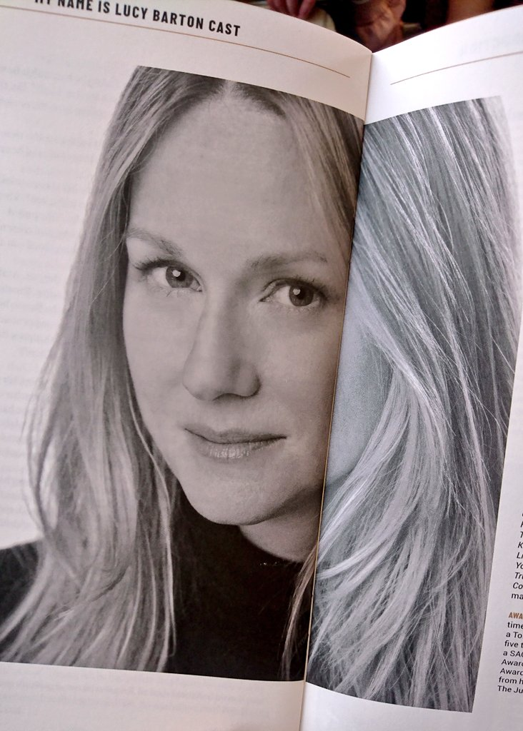 test Twitter Media - Watching Laura Linney in #MyNameIsLucyBarton has opened my eyes to a new writer, Elizabeth Strout I'd never heard of before. Now I adore her. Strout is one to look out for. Linney's performing was superb & touching.  @_bridgetheatre tickets are sold out online. Check for returns! https://t.co/J2pcxMWYGp