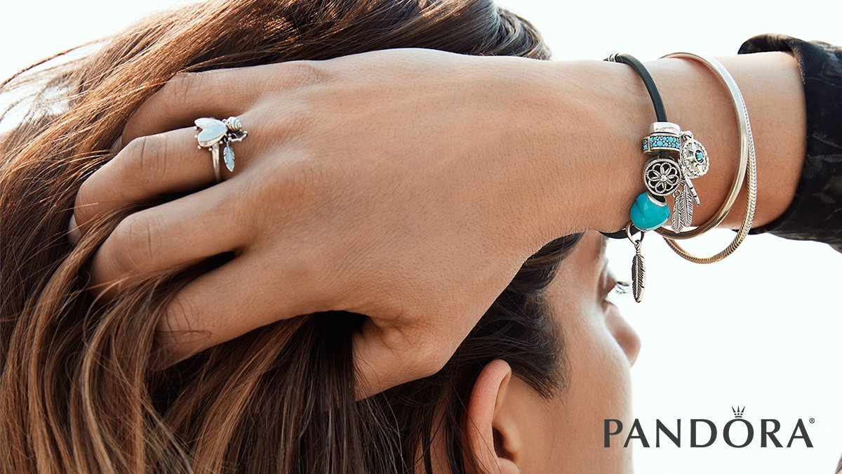 ee019842b With festival-inspired styles, you will radiate free-spirited energy.  http://www.BeCharming.com #becharming #pandora #festival #style  #dreamcatcher ...