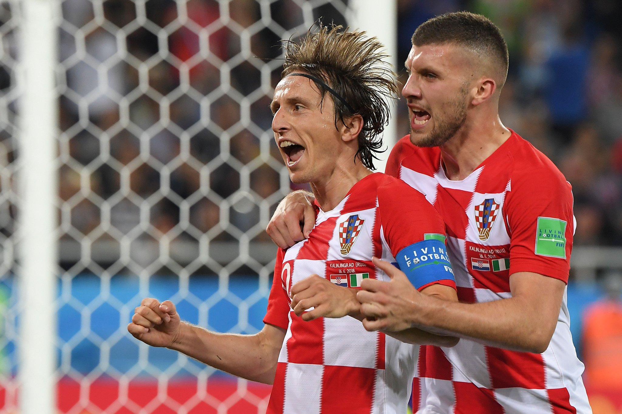 Croacia venció 2-0 a Nigeria