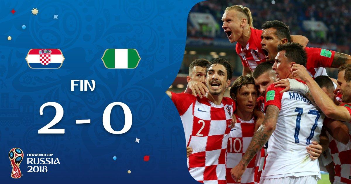 Croatie-Nigéria