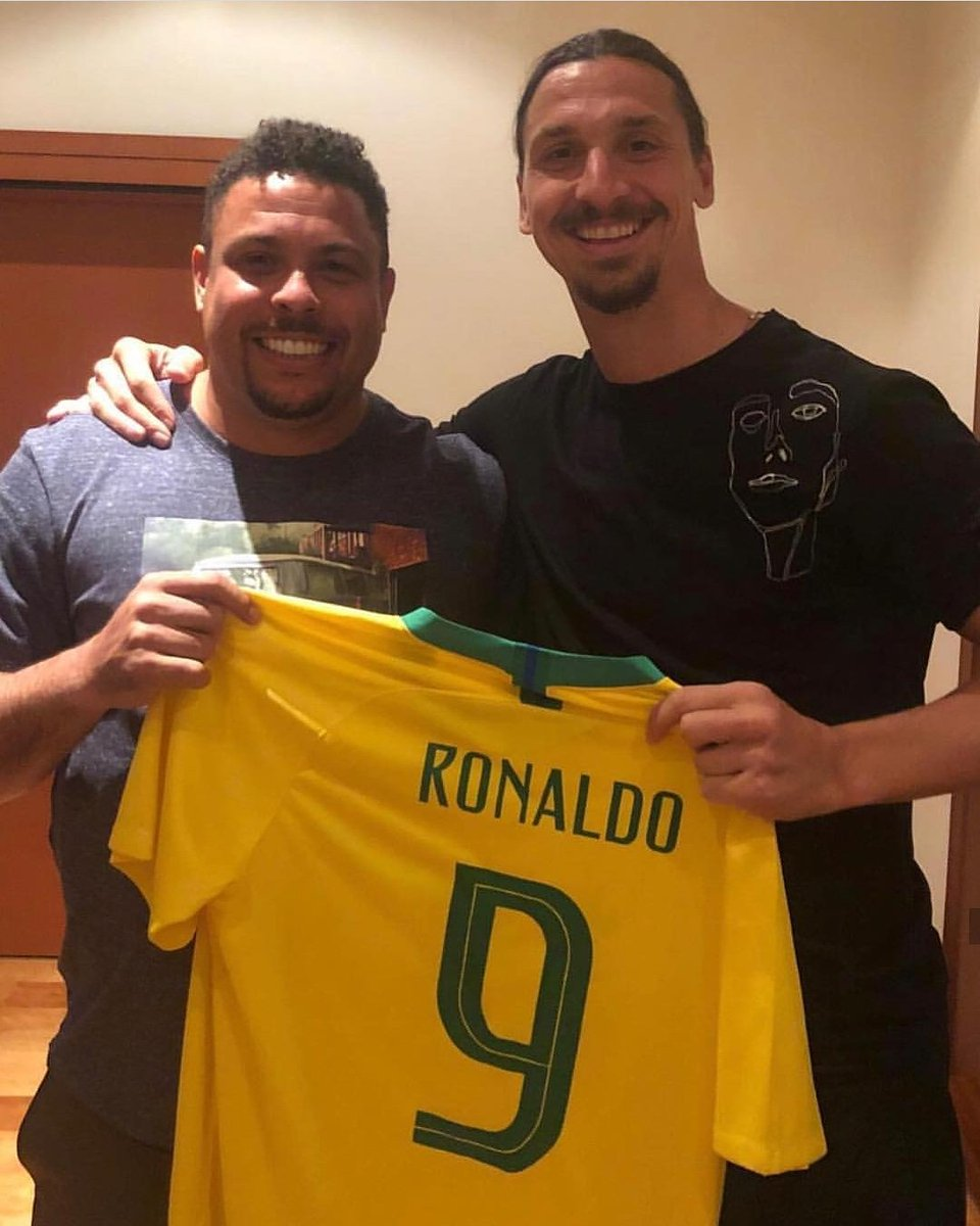 """TVMAX Deportes on Twitter: """"LIKE Y RT. El único ídolo de Zlatan Ibrahimovic... """"El Fenómeno"""" Ronaldo Nazario ??. #MundialTVMAX ??… """""""