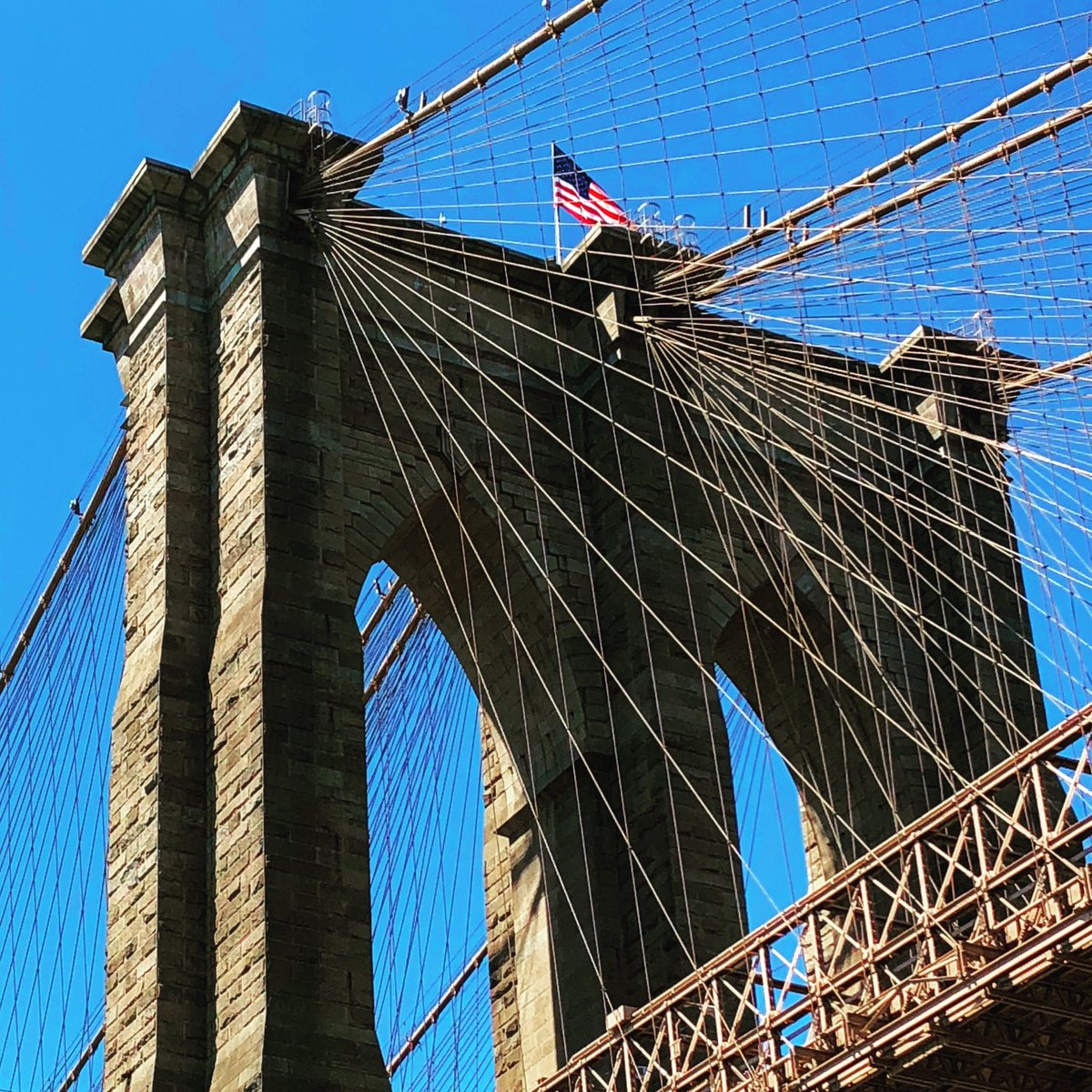 The Brooklyn Bridge Instagram: instagram.com/michi_kakutani/