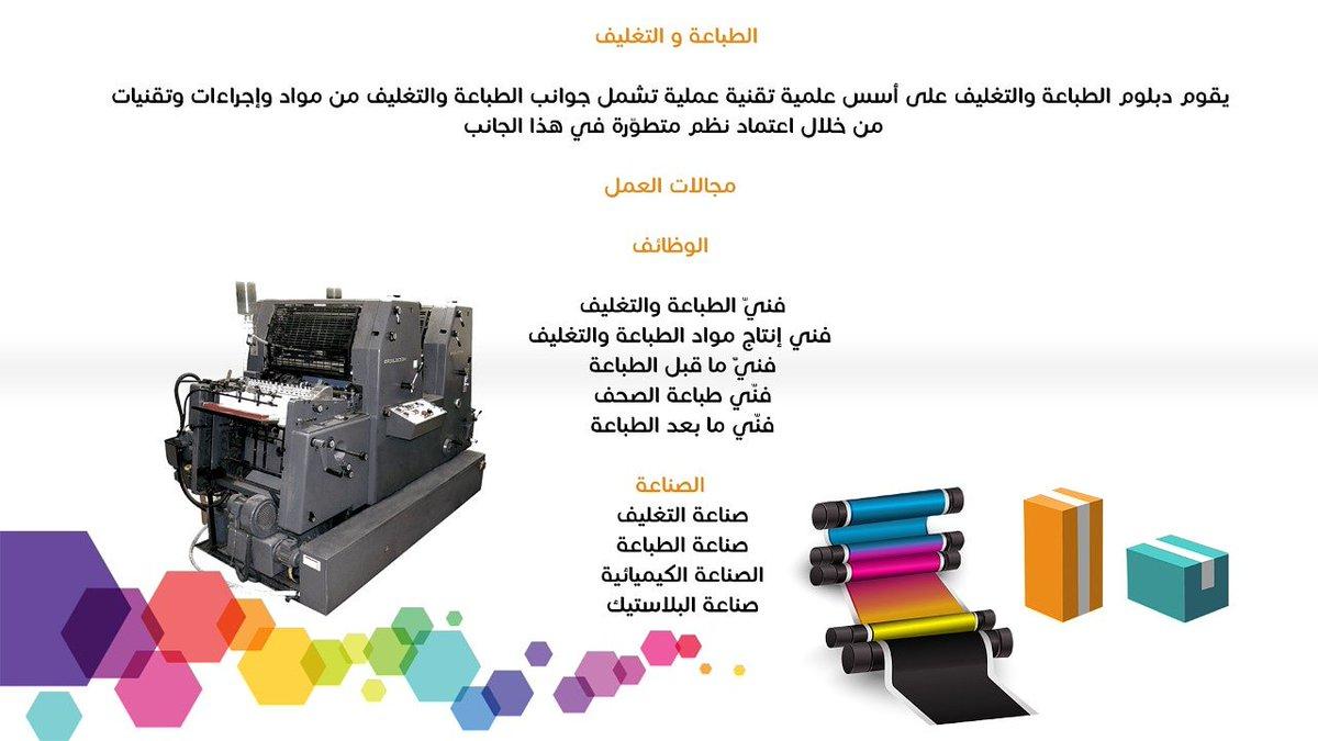 معهد الرياض للتقنية On Twitter حصول معهد الرياض للتقنية على شهادة اعتماد برنامج الطباعة والتغليف احد التخصصات في معهد الرياض للتقنية من المنظمة العالمية للطباعة والتغليف طباعة وتغليف تخصصات دبلوم Https T Co T6fhcj62bi