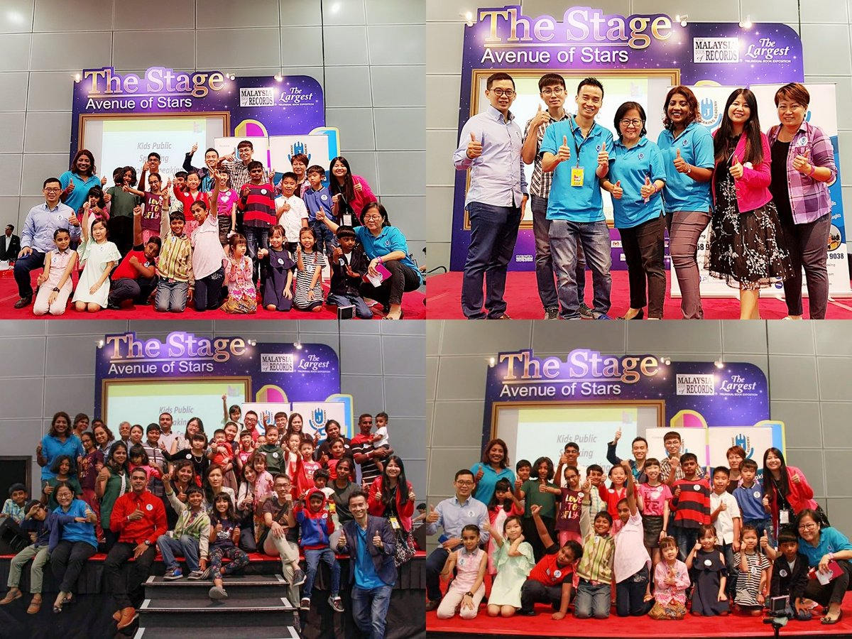 This was the 4th year our students spoke at klcc hall 5 during popular bookfest. Students took a lot of courage to speak at this big stage. Great job kids and teens, you were awesome. Thank you very much popular for this awesome opportunity. #stagetime #popularbookfest