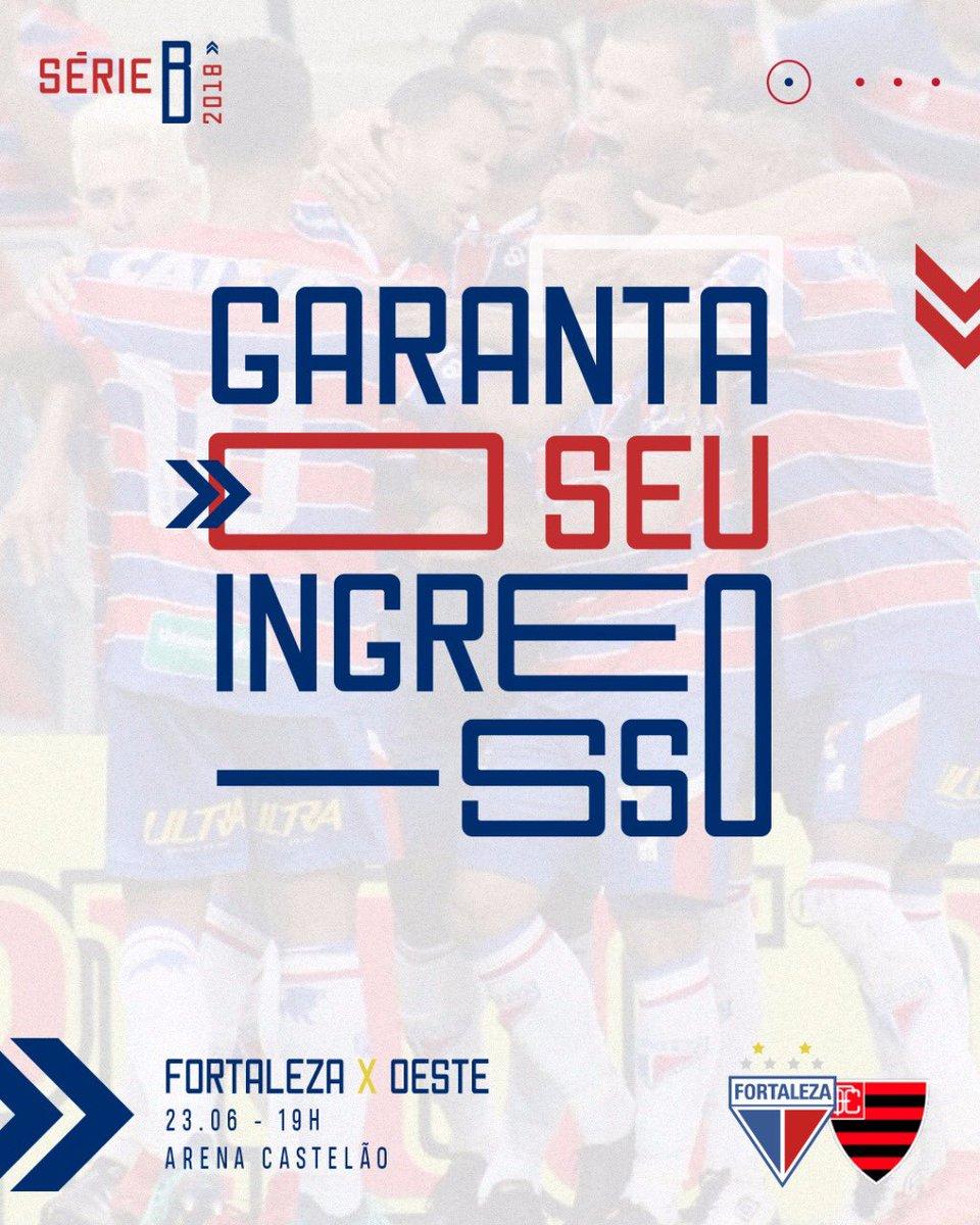 8b2e67e4a90c7 Já estão à venda os ingressos para a partida entre Fortaleza e Oeste