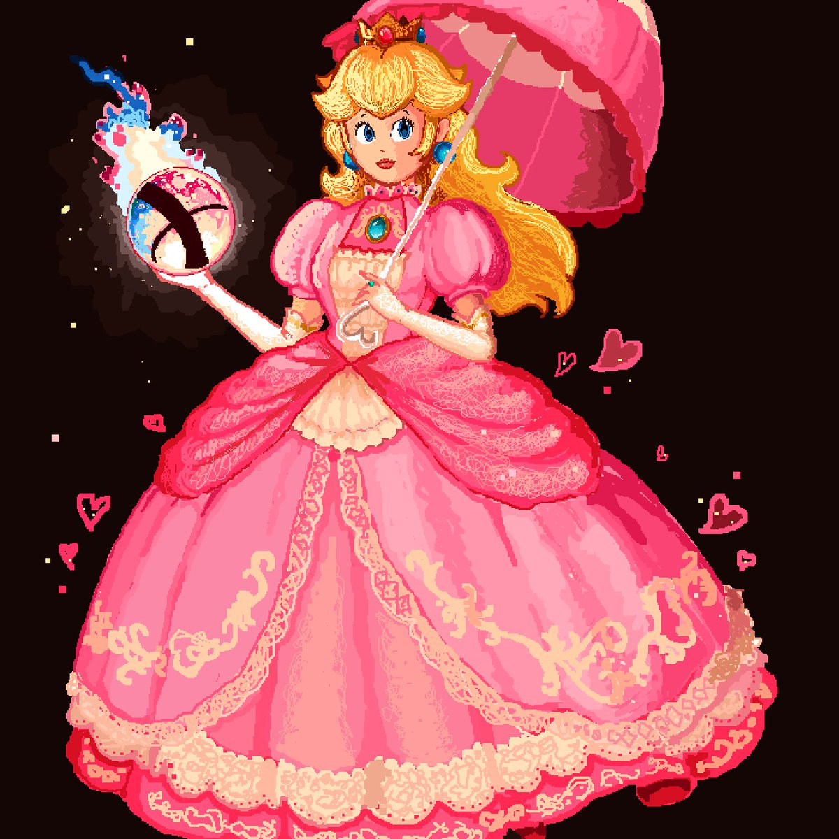 Pixilart On Twitter Super Smash Bros Ultimate Princess