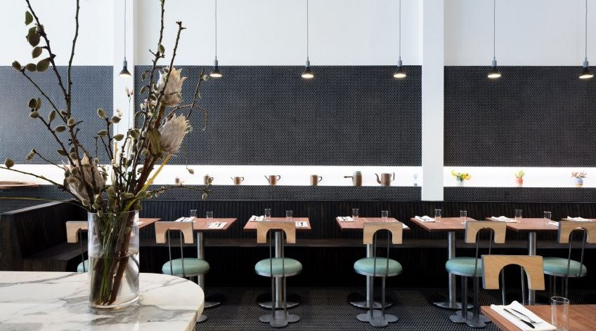Beautiful mix of design styles in this #pizzeria in #NY https://t.co/sSBLQqxPm2