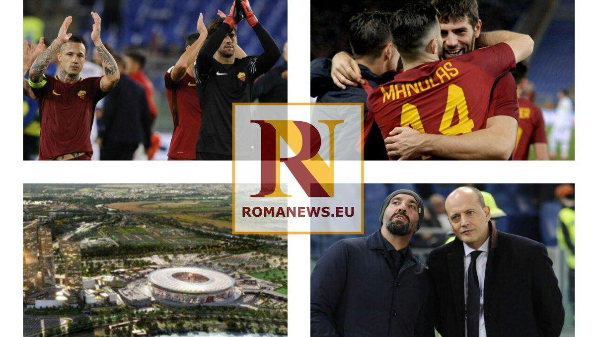 """News della giornata. #Manolas-#Chelsea, l'agente: palla alla Roma. Obiettivo #Areola se parte #Alisson, #Fazio: """"Col Barça gara storica""""#ASRomahttps://romanews.eu/approfondimenti/news-della-giornata-manolas-chelsea-lagente-palla-alla-roma-obiettivo-areola-se-parte-alisson-fazio-con-il-barca-partita-storica/  - Ukustom"""