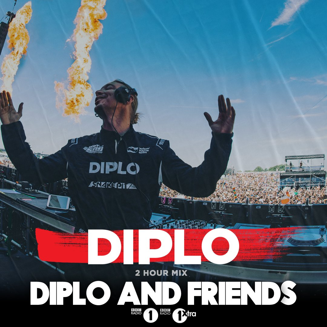 Just hours away from @Diplo & Friends! This time the boss draws for the Summer vibes - he's got the best House music for your speakers, all blended together for the whole show: https://t.co/JH29bsno7O https://t.co/iH5QAXPrGZ