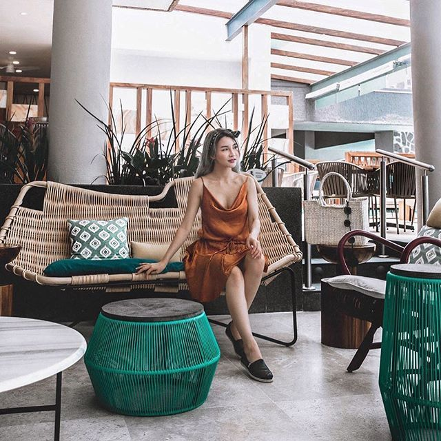 Tropical decor aesthetics so on point at @marriottpv. In what style would you decorate your dream home? I love minimal, but tropical vibes have been stealing my heart recently. #marriottpv https://t.co/JJVDiladRs