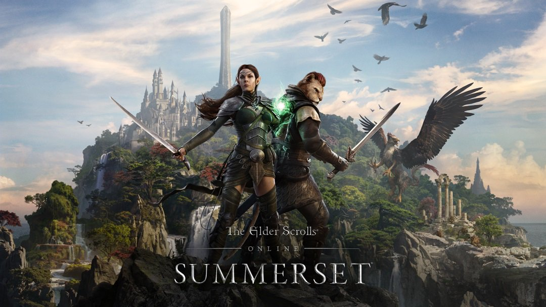 With the #Summerset Chapter out now and the Wolfhunter and Murkmire DLC game packs coming later this year, there's never been a better time to start your #ESO story. Tag a friend to join you in The Elder Scrolls Online! beth.games/2AZAPEw