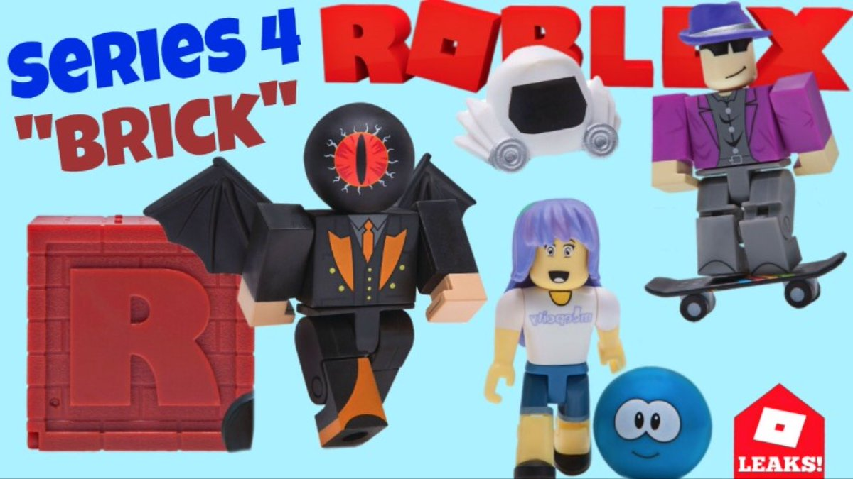 Roblox Series 4 - Lily On Twitter Roblox Toys Series 4 Blind Boxes Are Brick