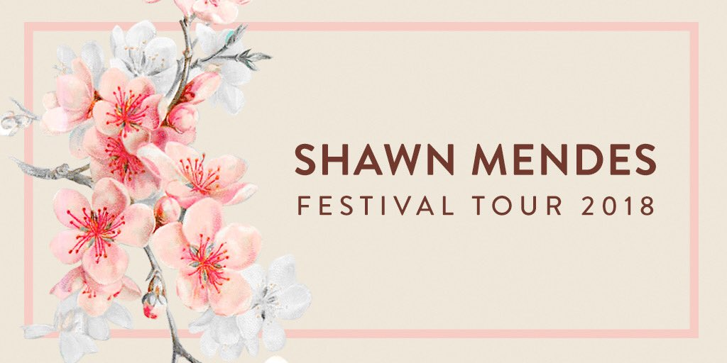 #ShawnMendesFestivalTour this summer. Tickets https://t.co/bEmQqHS8Gq