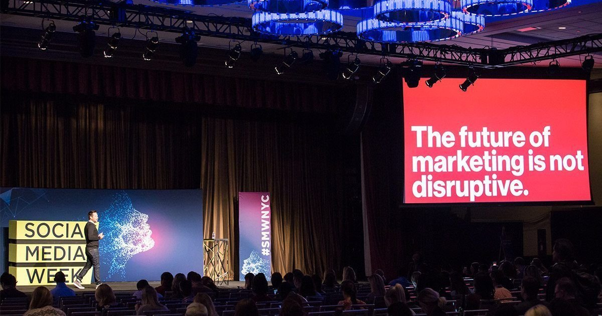 The Future of #DigitalMarketing is Personal, Not Disruptive https://t.co/l6omvGMQD2 via @socialmediaweek https://t.co/2MfsjUkT70