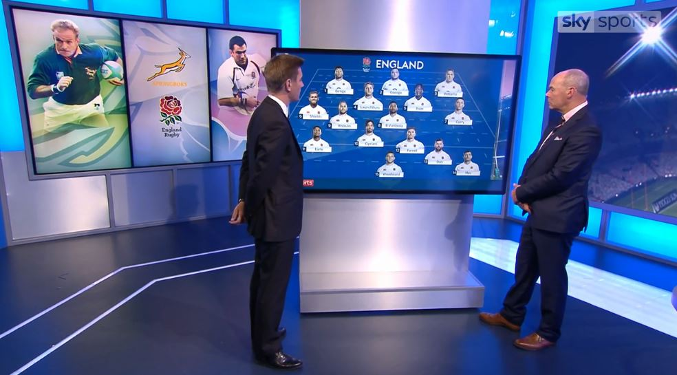 test Twitter Media - WATCH: Sir Clive Woodward picks the 15 England players he would like to see start the third and final Test against South Africa. https://t.co/5MGgVvS4XN https://t.co/Zcq4xHRYhZ