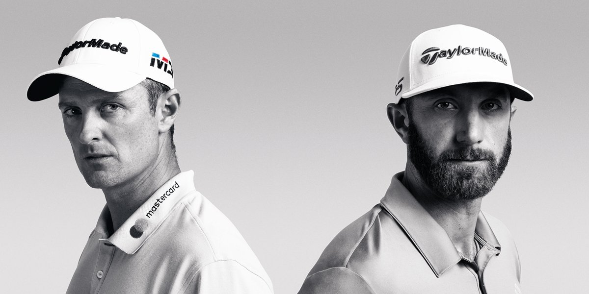 Justin (T2) vs. Dustin (1st) #M3driver vs. #M4driver #TP5 vs. #TP5x #TPcollection vs. #SpiderTour #TeamTaylorMade #USopen
