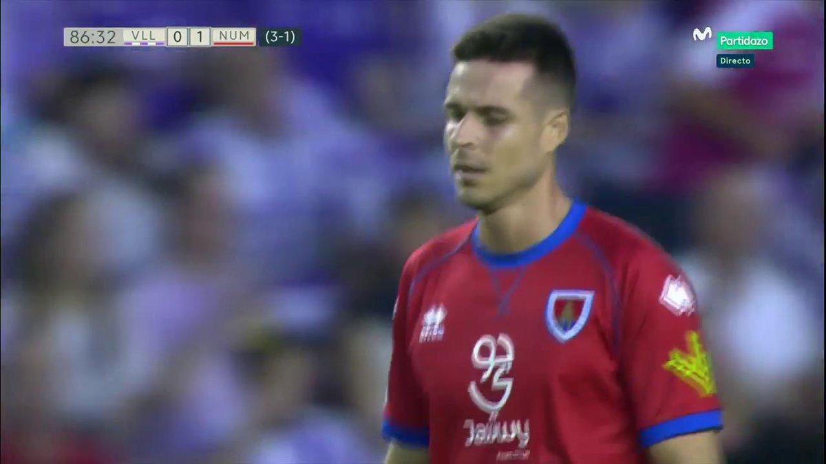El gol del honor para el Numancia. Manu del Moral marca en Valladolid. #AsaltarElCielo