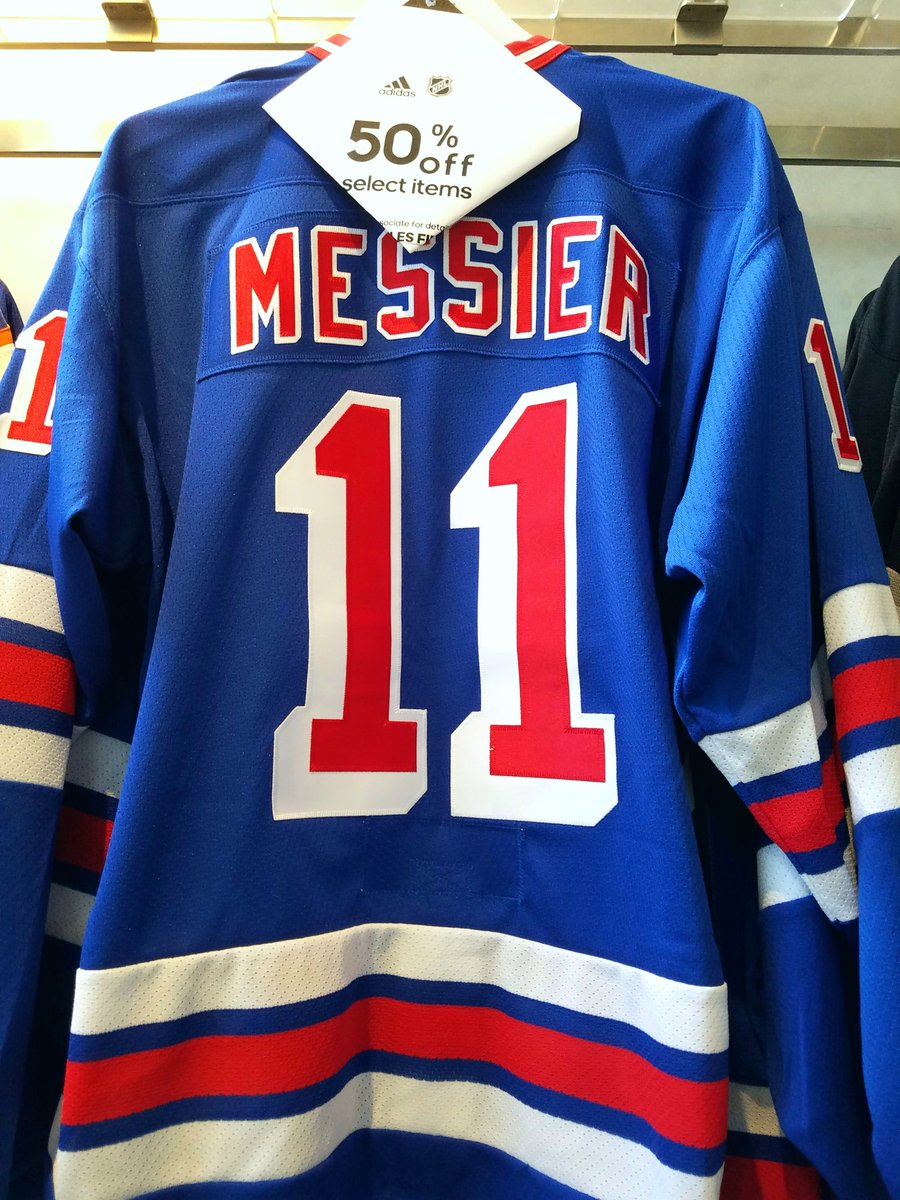 2ba967f5d 50% Off all Rangers jerseys! Men's, Kid's, and Heroes of Hockey in stock.  Get em' while supplies last!pic.twitter.com/sAM80wbTaT
