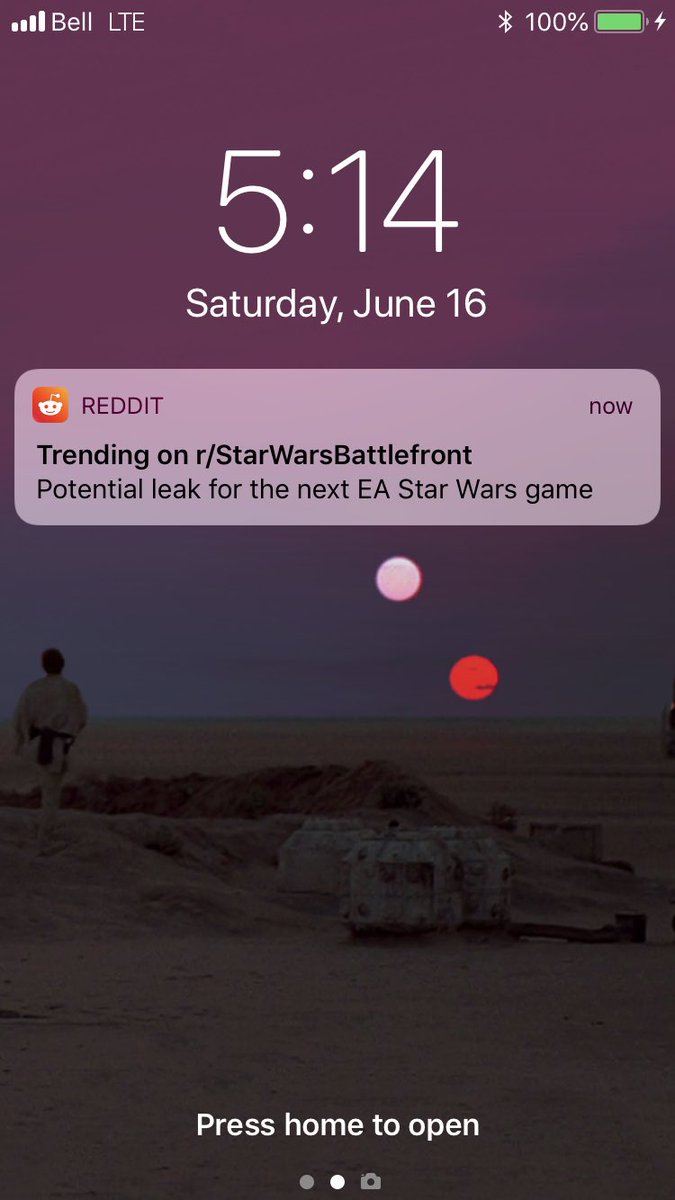 I freaked out until I saw the actual post. Thanks, @reddit.